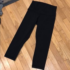 Lululemon High waisted Capri legging pants